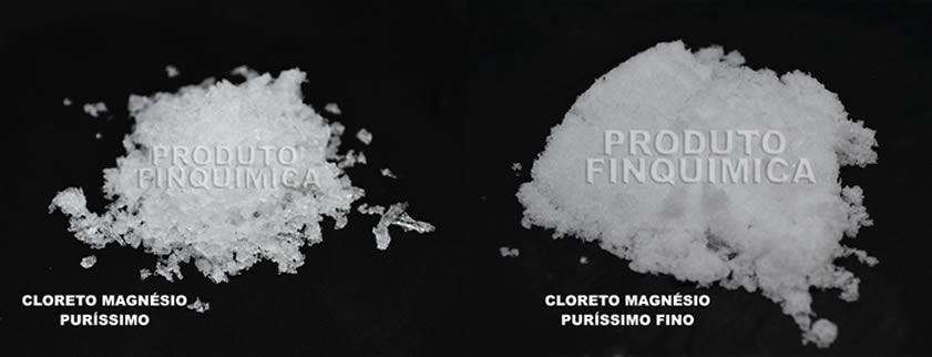Qual a diferença entre Cloreto de Magnésio Puríssimo e Cloreto de Magnésio Fino